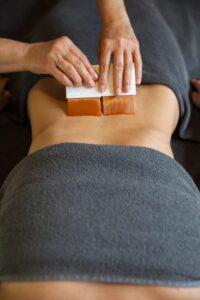 spa masaż olejkiem