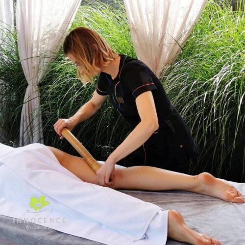 spa bamboo massage