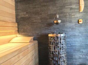 sauna sucha wnetrze