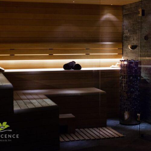 strefa wellness sauna sucha